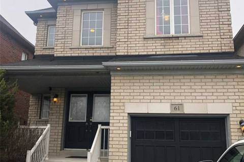 House for rent at 61 Tiana Ct Vaughan Ontario - MLS: N4457324