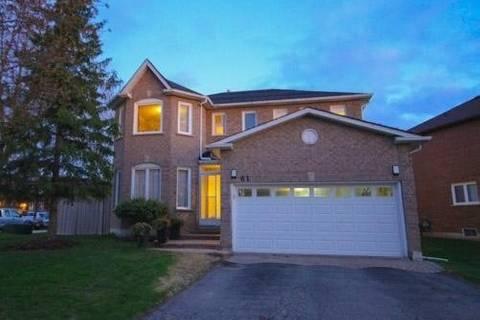 House for sale at 61 Twelve Oaks Dr Aurora Ontario - MLS: N4447838