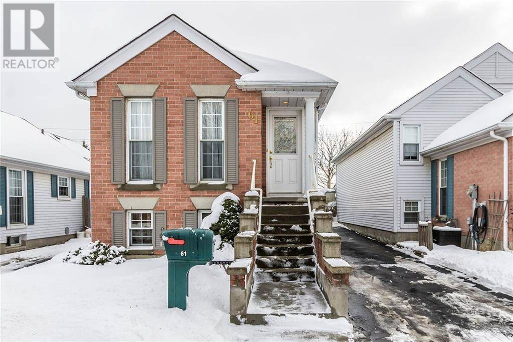 House for sale at 61 Wake Robin Dr Kitchener Ontario - MLS: 30790401