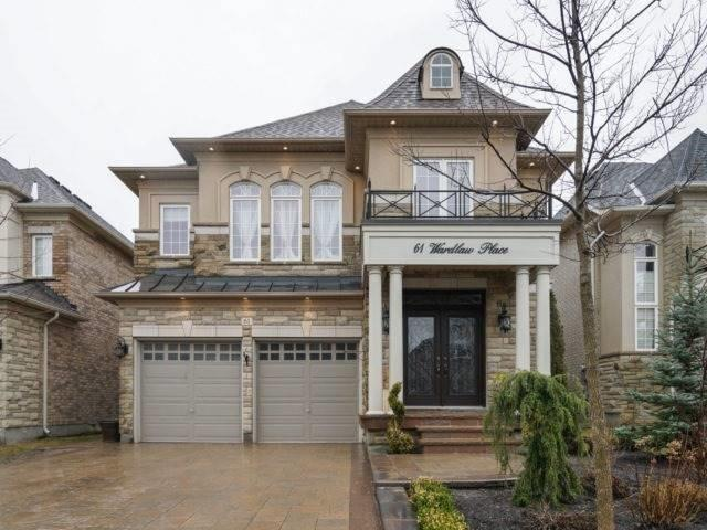 For Sale: 61 Wardlaw Place, Vaughan, ON | 4 Bed, 4 Bath House for $1,529,000. See 20 photos!
