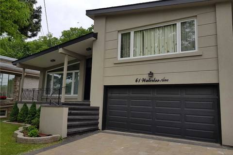 House for rent at 61 Waterloo Ave Toronto Ontario - MLS: C4488438