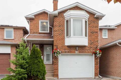 House for sale at 61 White Blvd Vaughan Ontario - MLS: N4927430