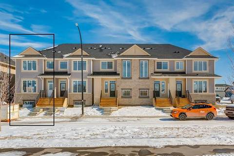 Townhouse for sale at 61 Willow Green Wy Cochrane Alberta - MLS: C4291964