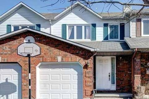 Townhouse for sale at 61 Winnegreen Ct Ottawa Ontario - MLS: 1157820