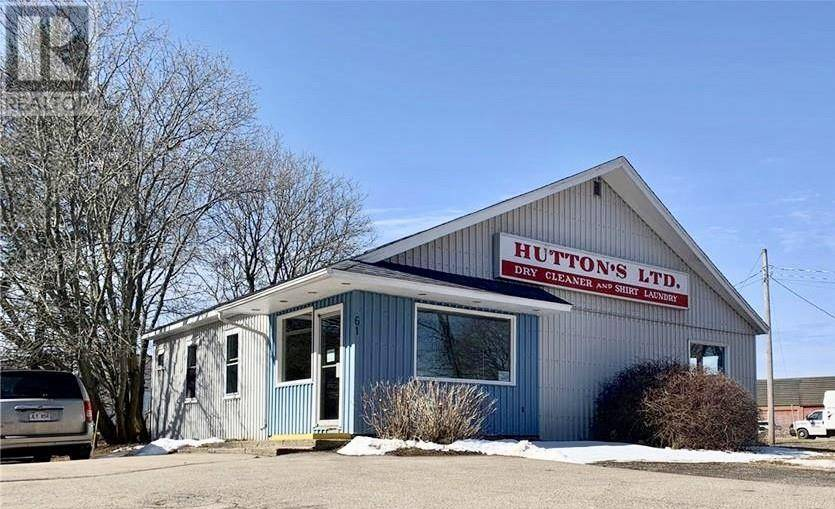 Commercial property for sale at 61 Winter St Sussex New Brunswick - MLS: NB022437