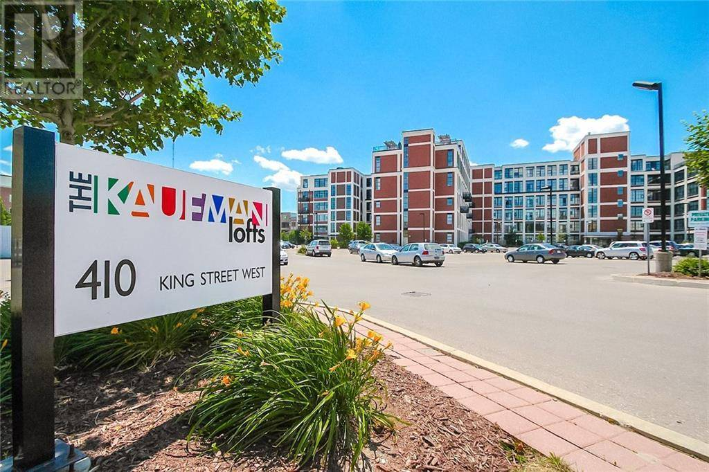 Condo for sale at 404 King St Unit 610 Kitchener Ontario - MLS: 30793803