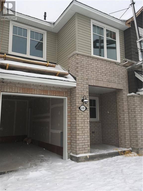 Townhouse for rent at 610 Vivera Pl Stittsville Ontario - MLS: 1178369