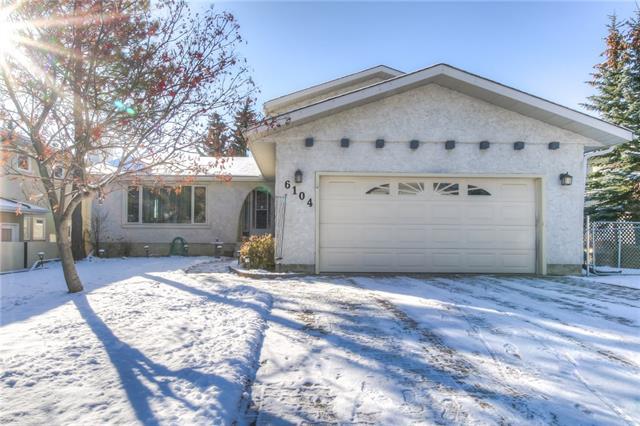 Sold: 6104 Dalcastle Crescent Northwest, Calgary, AB