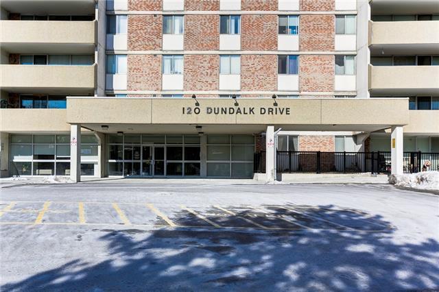 Sold: 611 - 120 Dundalk Drive, Toronto, ON