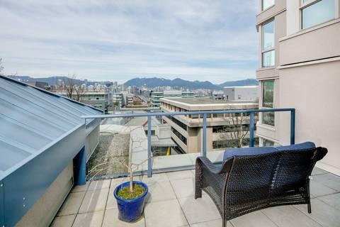 Condo for sale at 500 10th Ave W Unit 611 Vancouver British Columbia - MLS: R2381638