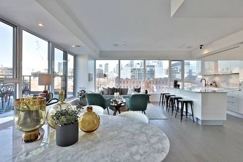Condo for sale at 501 Adelaide St Unit 611 Toronto Ontario - MLS: C4670746