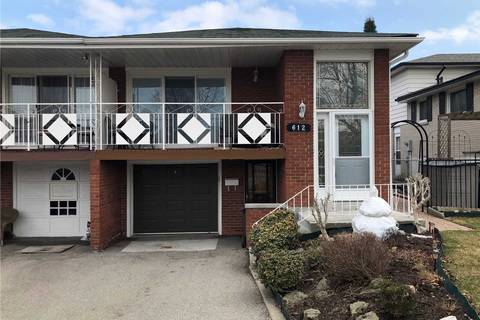 Townhouse for sale at 612 Green Meadow Cres Mississauga Ontario - MLS: W4406894