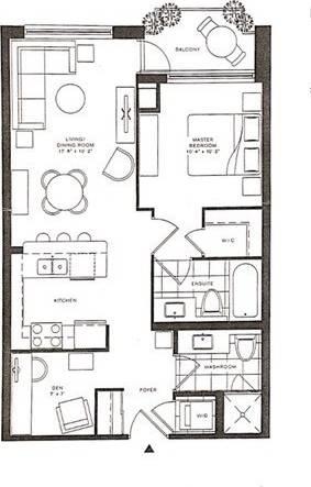 Apartment for rent at 111 Upper Duke Cres Unit 613 Markham Ontario - MLS: N4647391