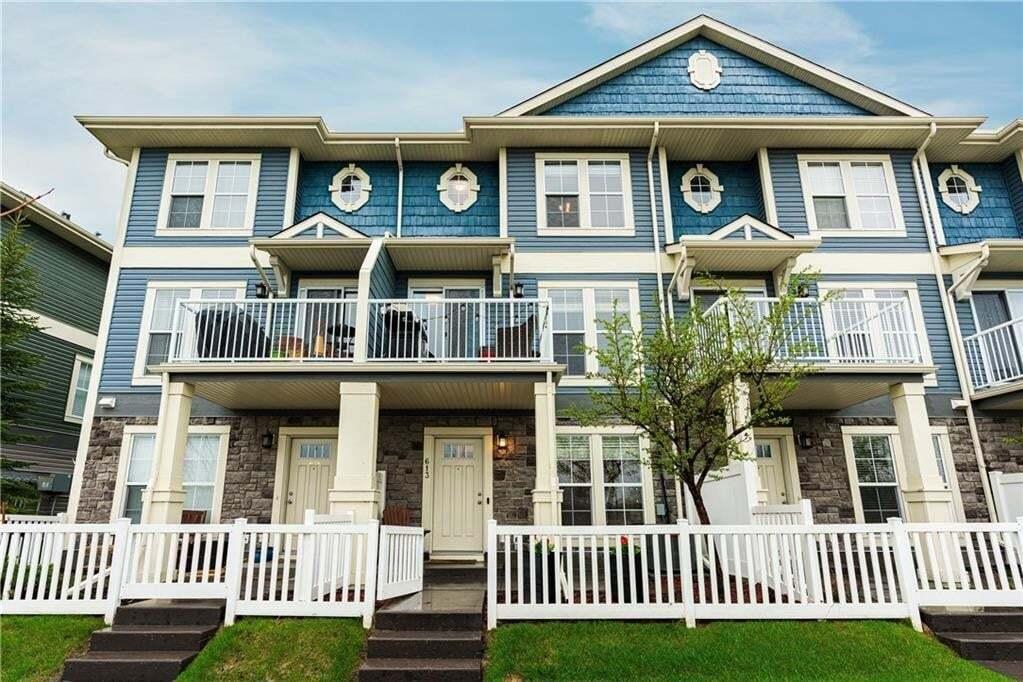 Townhouse for sale at 613 Auburn Bay Bv SE Auburn Bay, Calgary Alberta - MLS: C4297671