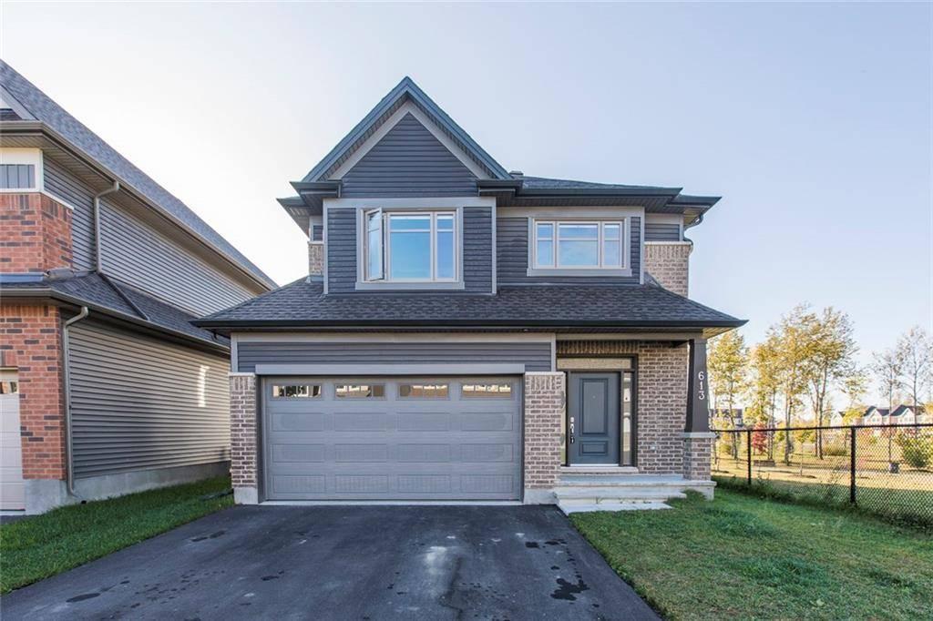 House for sale at 613 Sora Wy Ottawa Ontario - MLS: 1170572