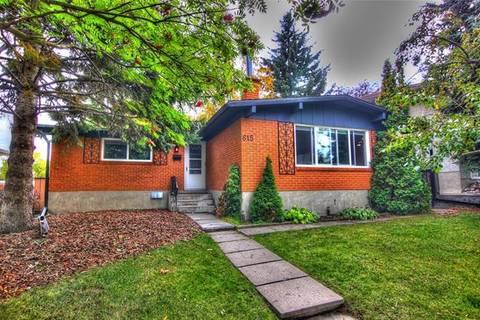 House for sale at 615 Sherman Ave Southwest Calgary Alberta - MLS: C4237461