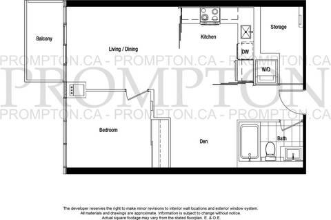 Apartment for rent at 121 Mcmahon Dr Unit 616 Toronto Ontario - MLS: C4384477