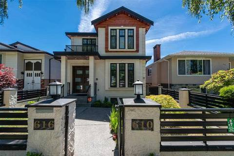 House for sale at 616 47th Ave E Vancouver British Columbia - MLS: R2378710