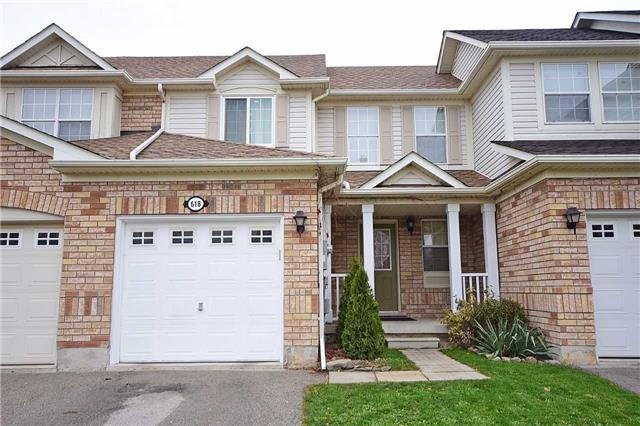 For Sale: 618 Hamilton Crescent, Milton, ON   3 Bed, 3 Bath Townhouse for $598,900. See 20 photos!