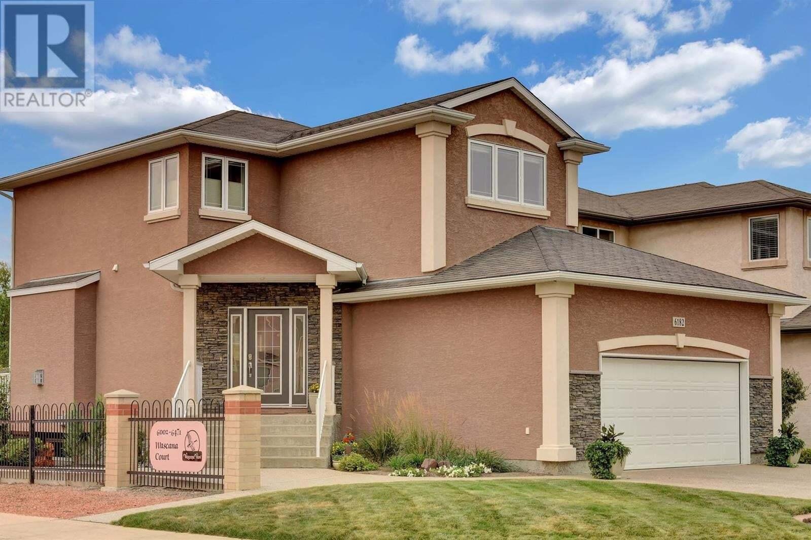 House for sale at 6182 Wascana Ct Regina Saskatchewan - MLS: SK826846
