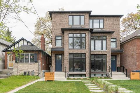 Townhouse for sale at 619 Beresford Ave Toronto Ontario - MLS: W4562764
