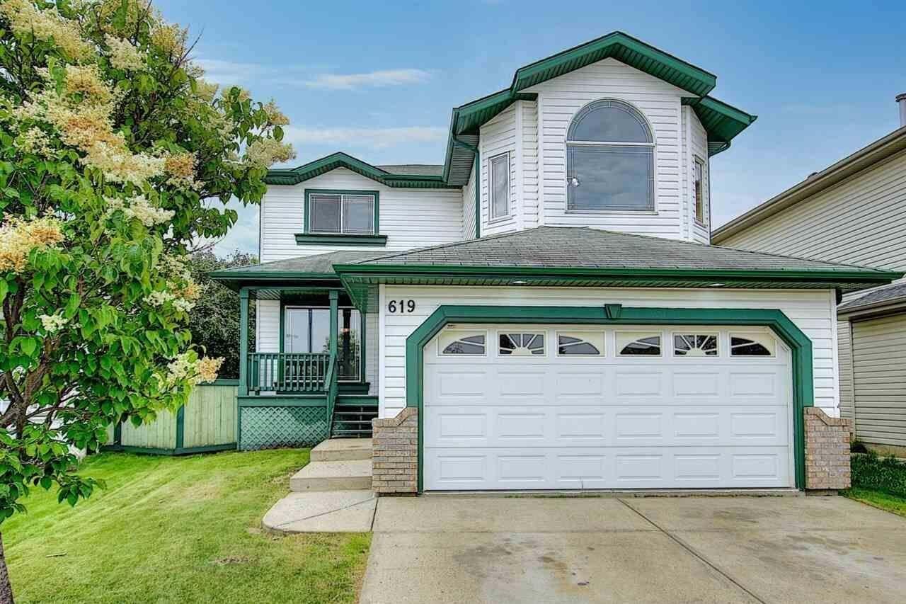 House for sale at 619 Bevington Pl NW Edmonton Alberta - MLS: E4214625