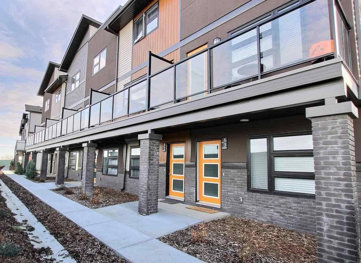 Townhouse for sale at 1203 163 St Sw Unit 62 Edmonton Alberta - MLS: E4186498