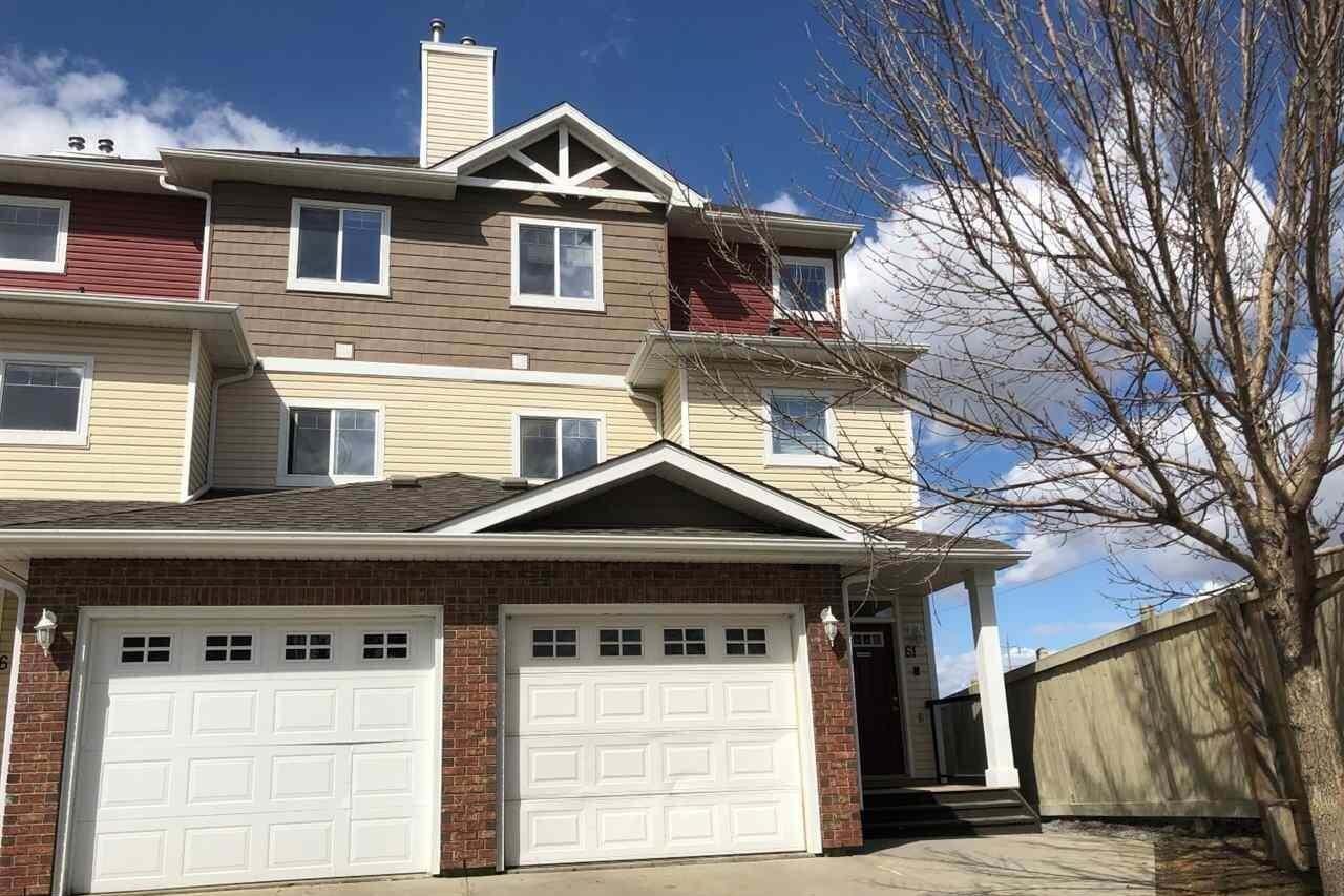 Townhouse for sale at 3010 33 Av NW Unit 62 Edmonton Alberta - MLS: E4193215