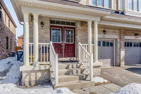 Townhouse for sale at 62 Andretti Cres Brampton Ontario - MLS: W4382745