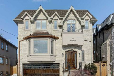 House for sale at 62 Athabaska Ave Toronto Ontario - MLS: C4422591