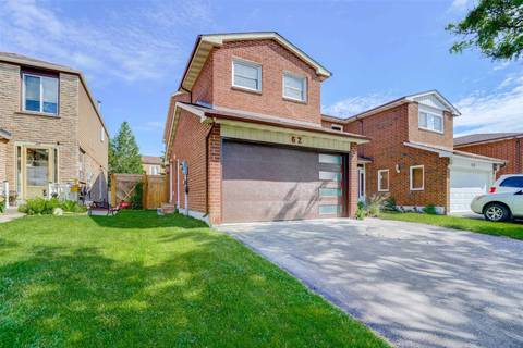 House for sale at 62 Bob O'link Ave Vaughan Ontario - MLS: N4498622