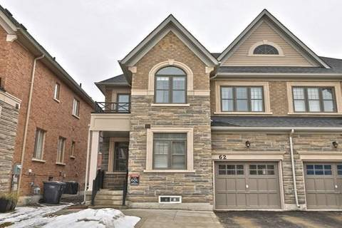 Townhouse for sale at 62 Faders Dr Brampton Ontario - MLS: W4703042