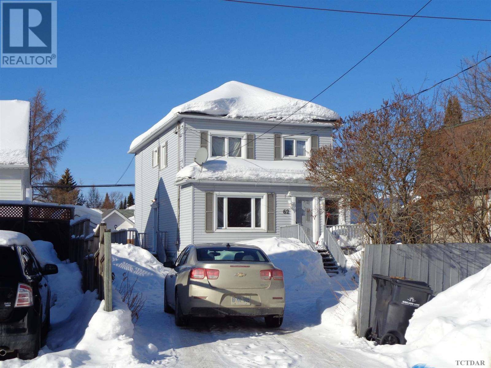 Townhouse for sale at 62 Fourth St Kirkland Lake Ontario - MLS: TM200293
