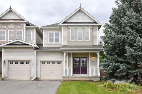 House for sale at 62 Goldridge Dr Ottawa Ontario - MLS: 1209779
