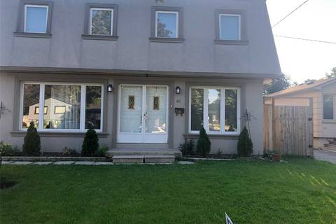 House for sale at 62 Kearney Dr Toronto Ontario - MLS: W4502956