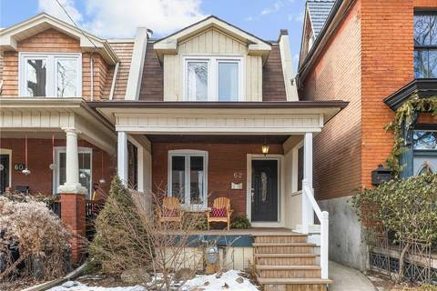 Townhouse for sale at 62 Lynd Ave Toronto Ontario - MLS: W4700438