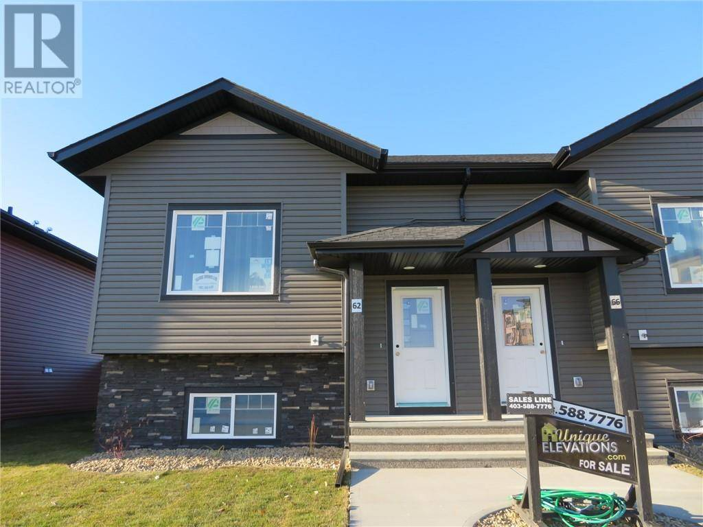 Townhouse for sale at 62 Mackenzie Ranch Wy Lacombe Alberta - MLS: ca0182596