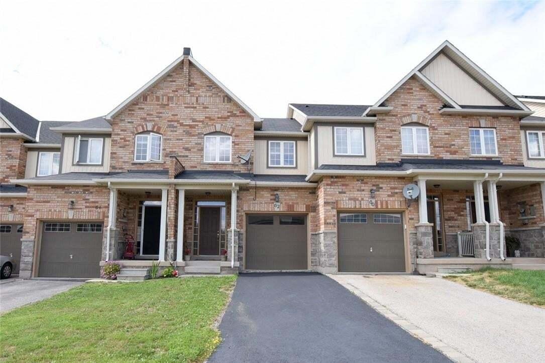Townhouse for sale at 62 Nisbet Blvd Waterdown Ontario - MLS: H4083778