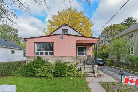 House for sale at 62 Oak St London Ontario - MLS: 40036934