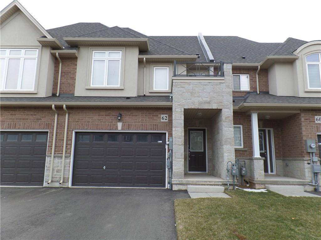 Townhouse for sale at 62 Pinot Cres Stoney Creek Ontario - MLS: H4072874