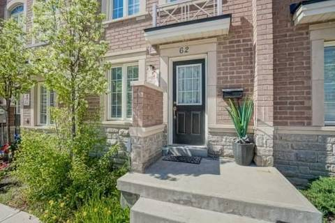 Townhouse for sale at 62 Ted Wray Circ Toronto Ontario - MLS: W4454982