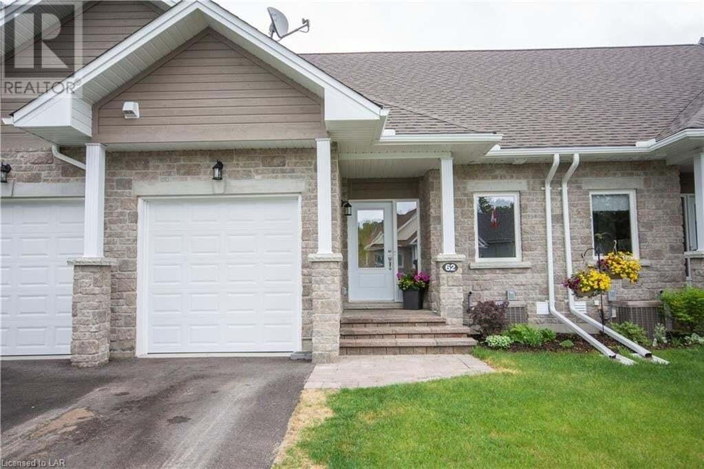 Townhouse for sale at 62 Webb Circ Haliburton Ontario - MLS: 262502