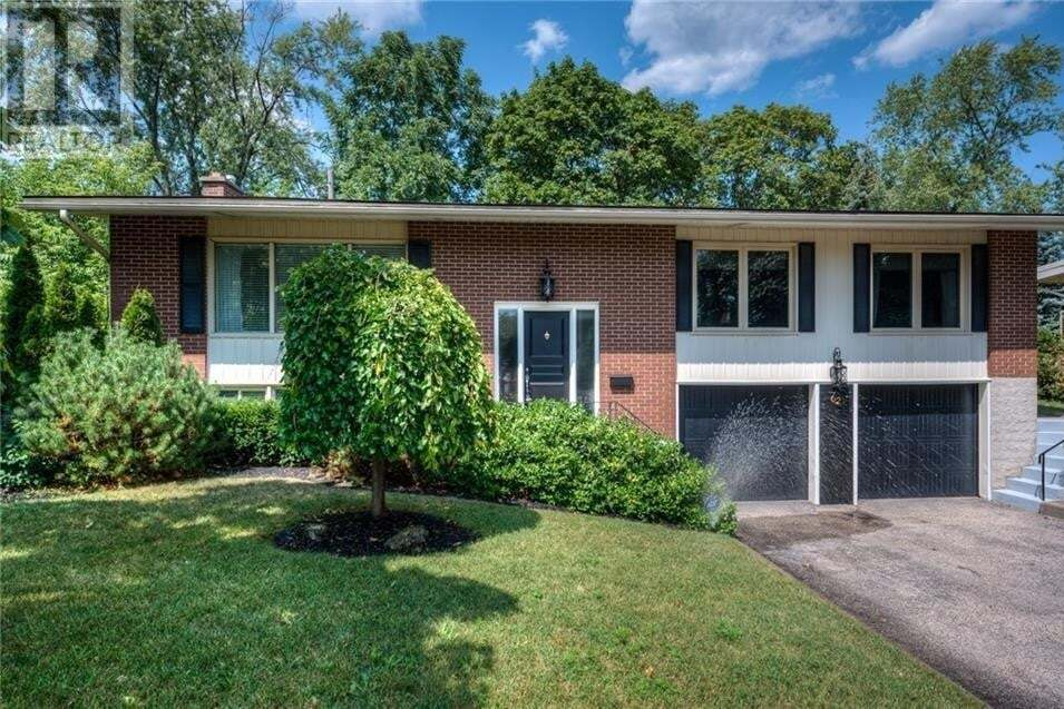House for sale at 62 Westmount Rd South Waterloo Ontario - MLS: 30826130