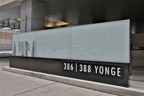 Apartment for rent at 388 Yonge St Unit 6201 Toronto Ontario - MLS: C4488540