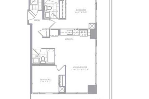 Apartment for rent at 30 Shore Breeze Dr Unit 6207 Toronto Ontario - MLS: W4724240