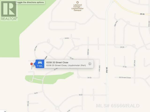 Residential property for sale at 6208 20th Street Cs Lloydminster West Alberta - MLS: 65566