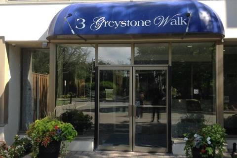 Condo for sale at 3 Greystone Walk Dr Unit 621 Toronto Ontario - MLS: E4441369