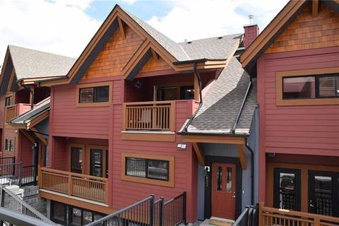 Townhouse for sale at 80 Dyrgas Gt Unit 622 Canmore Alberta - MLS: C4244741