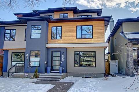 Townhouse for sale at 623 25 Ave Northwest Calgary Alberta - MLS: C4292190