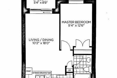 Apartment for rent at 39 New Delhi Rd Unit 623 Markham Ontario - MLS: N4454744